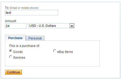 how to buy stuff with paypal